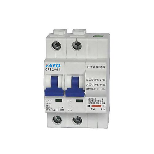 CFB3-63GQ自恢復過式欠壓保護斷路器