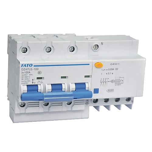 DZ47LE-100剩余電流動作斷路器
