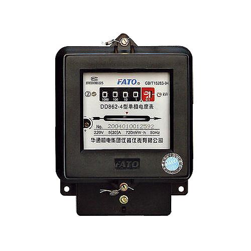 DD862系列單相電能表