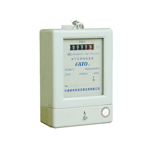 DDS877型、DDS48型電子式單相電能表