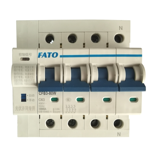 CFB3-80WGQ自恢复过式欠压保护断路器